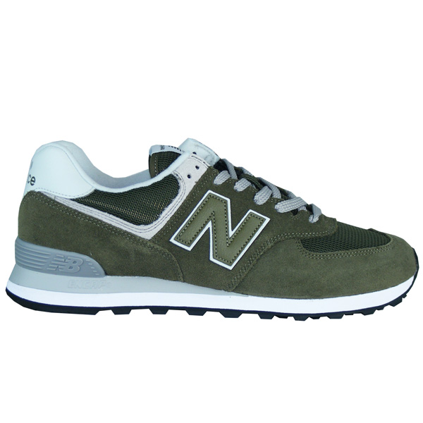new products 4af78 936b5 New Balance ML574 EGO Herren Sneaker grün