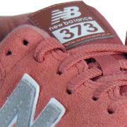 NB 373 Logo Synthetik Patch auf der Zunge