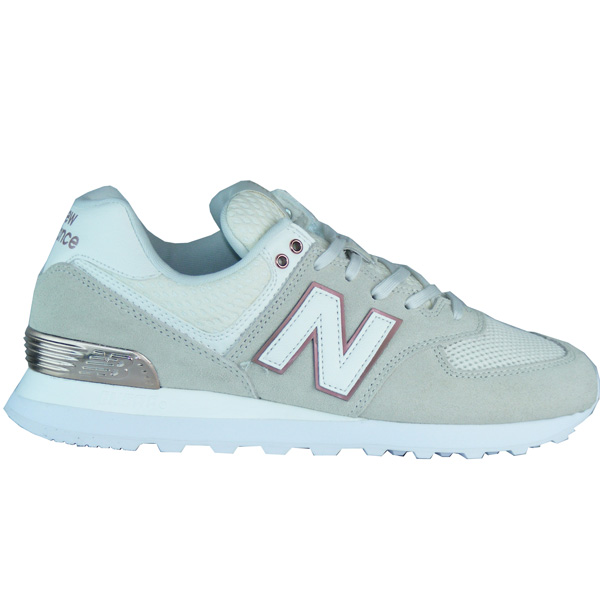 cheap for discount 2cc16 e9f6e New Balance WL574 FSD All Day Rose Damen Sneaker grün ...