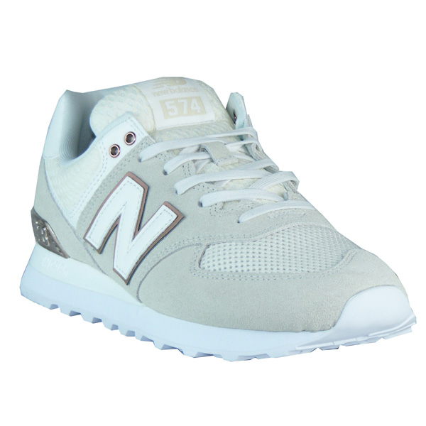 a1eadee53a180a New Balance WL574 FSA sea salt All Day Rose Damen Sneaker beige ...