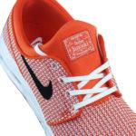 orangener Nike SB Stefan Janoski For Daily Use Stoffsticker auf der Zunge