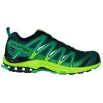 Salomon XA Pro 3D GTX Goretex rainforced limegreen fern green Herren Wanderschuhe 2018