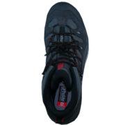 Maximaler Komfort und trockene Füße durch den Salomon Schlammschutzrand entlang der Basis des Schuhes