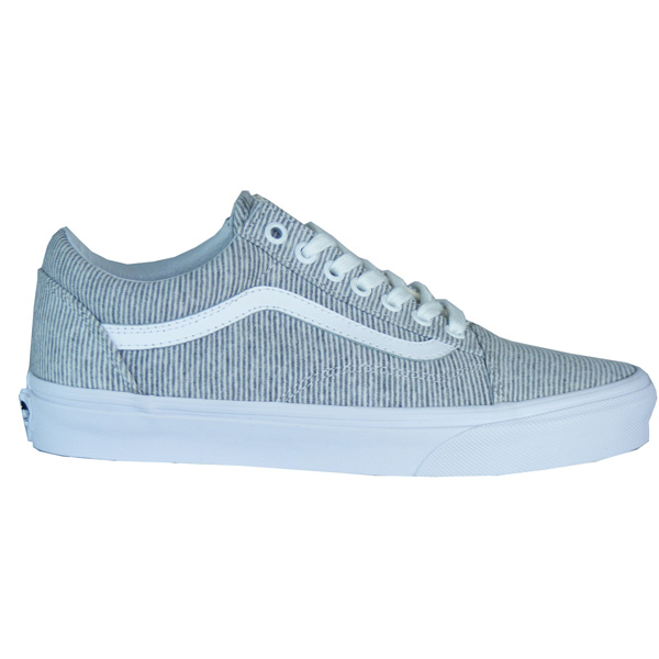 vans damen sneaker old skool grau