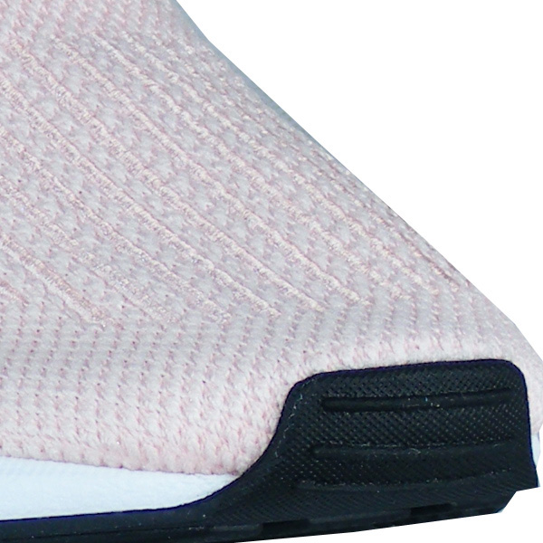 griffige Gummisohle mit Profilierung und Noppenbereiche an Zehen und Ferse