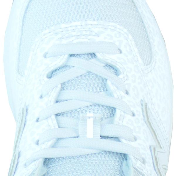 detailed pictures c0ae8 31b7b New Balance WL574 NT Leopard white glitter Damen Sneaker ...