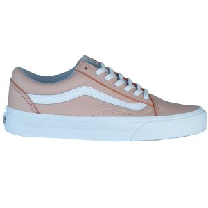 Vans Old Skool Damen oxford evening Lederschuhe rosa