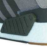 optische Elemente an der Schuhinnenseite