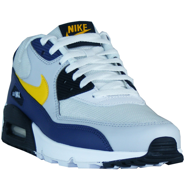 Nike Air Max 90 Essential Herren Schuhe weißgelbblau