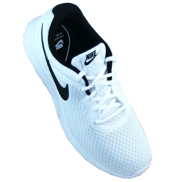 Nike Damen WMNS Tanjun Laufschuhe, (SchwarzWeiß), 43 EU