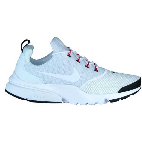 764070dc55d7ff Nike Presto Fly Herren Retro Running Sneaker weiß schwarz ...
