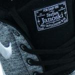 weiß schwarzer Nike SB Stefan Janoski For Daily Use Stoffsticker auf der Zunge