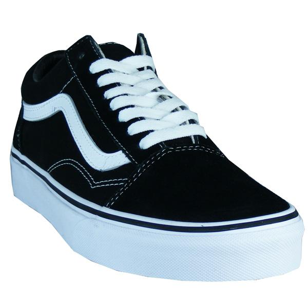 Vans Old Skool Skateschuhe Herren schwarz/weiß