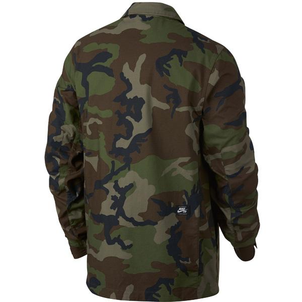 2da246eb0b6f ... Camo Jacket Herren Jacke. Obermaterial  97% Baumwolle 3% Spandex   Nike  Flex Ripstop Materialmaterialverbund