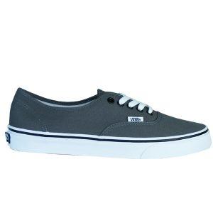 Vans Authentic Pewter Herren Skateboarding Retro Sneaker