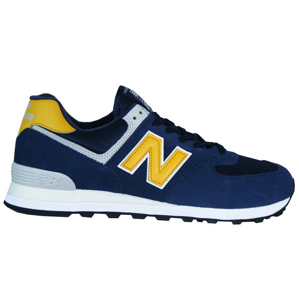 new balance gelb blau