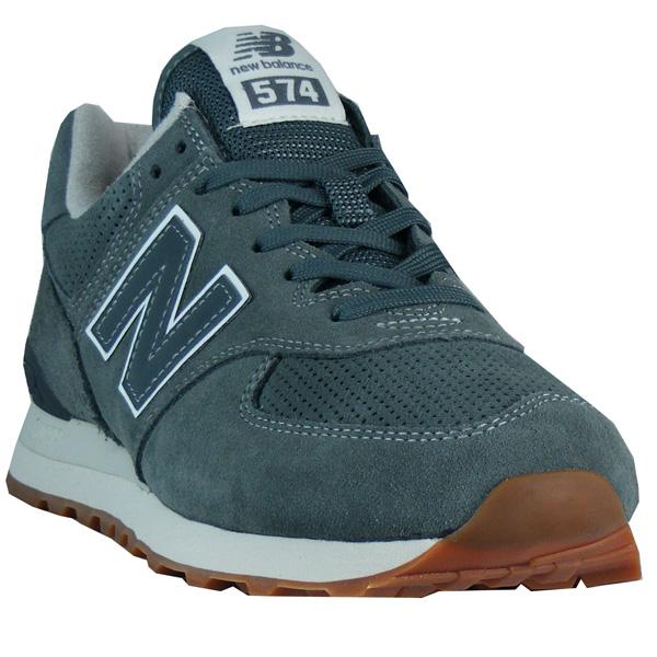 New Balance ML 574 ESJ Herren grau