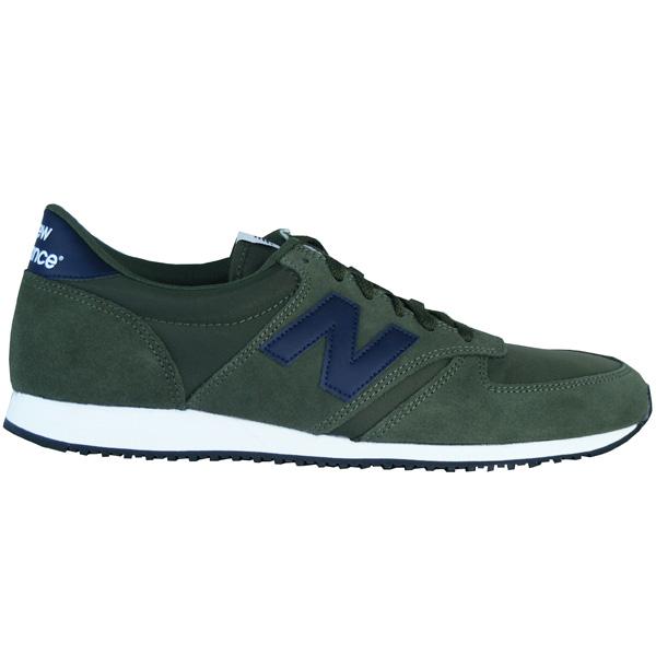 New Balance U 420 JDE Classic Running Herren Laufschuhe grün/blau