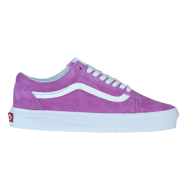super popular a65ce 3e75f Vans Old Skool Wildleder Skate Schuhe Damen violett