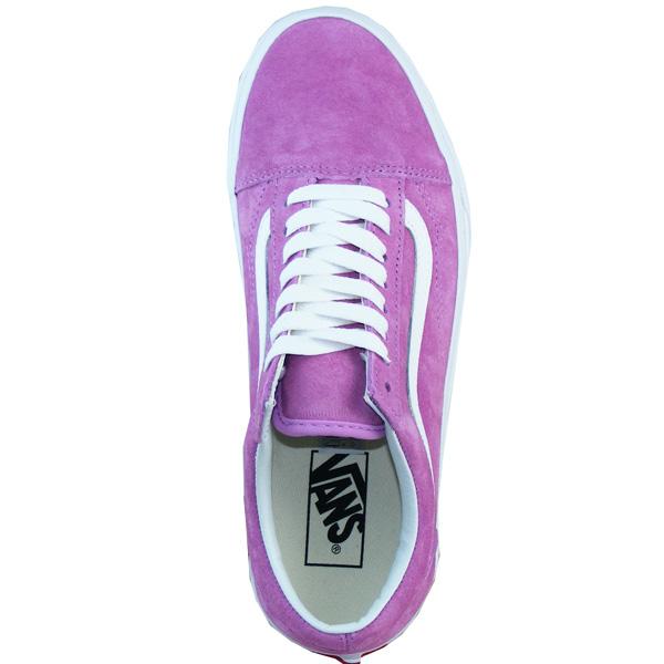 Vans Old Skool Wildleder Skate Schuhe Damen violett