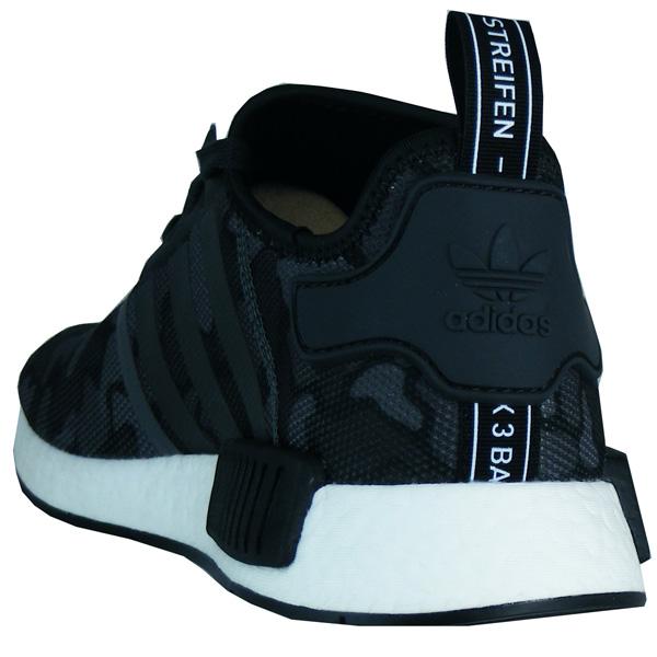 adidas nmd r1herren boost laufschuhe sneaker grau-camo d96616