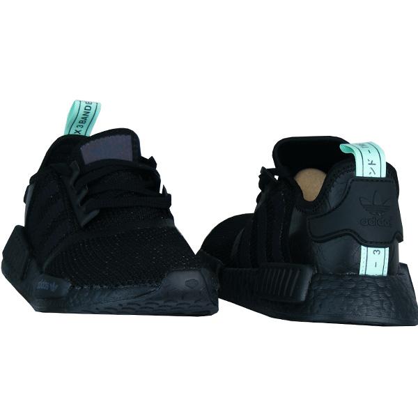 ad911abff92c50 Adidas Originals W NMD R1 Damen schwarz grün AQ1102 - meinsportline.de