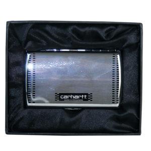 Carhartt Zigaretten Etui / Steel siver Case
