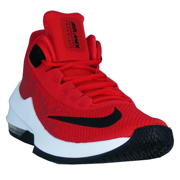 Nike Air Max Infuriate 2 Mid Herren rotschwarzweiß
