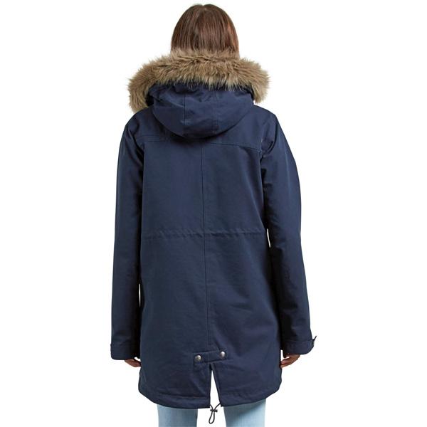 new style ce613 94ba2 Volcom Less Is More Parka Damen Winterjacke blau