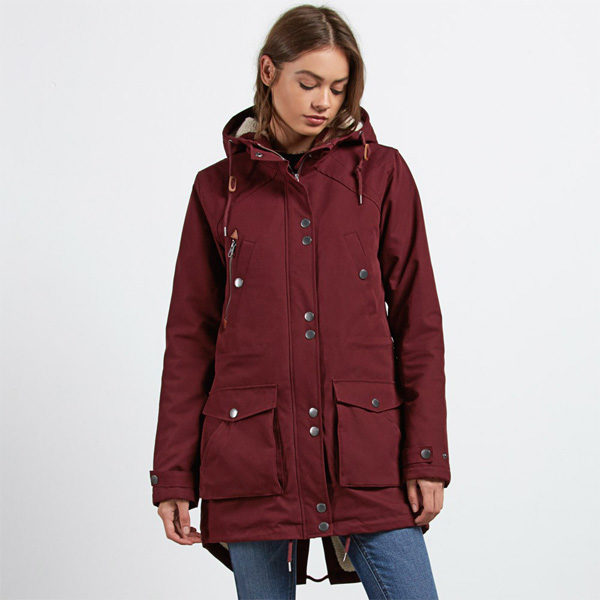 Volcom Walk On By Damen Winterjacke Parka