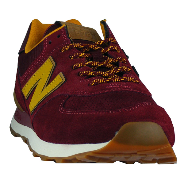 newest 89985 82364 New Balance ML 574 OTC Herren weinrot - meinsportline.de