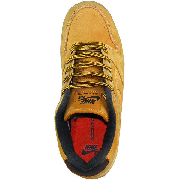Nike SB Air Force 2 Low Premium Schuhe Herren braun