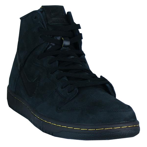 Nike SB Zoom Dunk High Deconstructed Premium Boots Herren schwarz