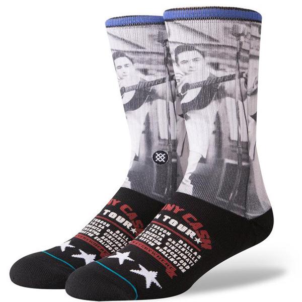 Stance Johnny Cash on Tour Herren Socken