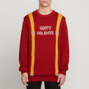 Volcom Suspenders Langarm Sweater Pullover