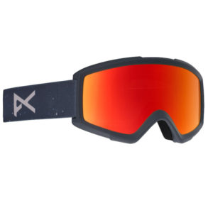 Anon Helix 2.0 Ski- und Snowboardbrille rush red solex