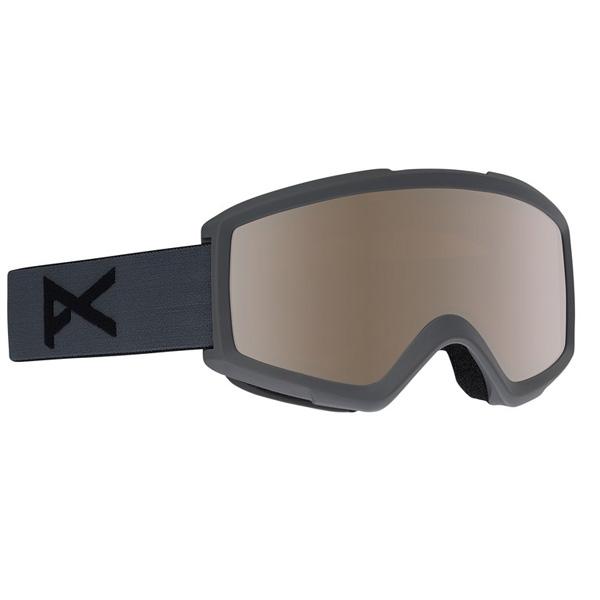 Anon Helix 2.0 Ski- und Snowboardbrille stealth silver amber