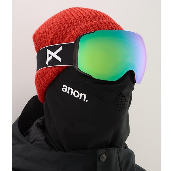 Anon M2 MFI Ski- und Snowboardbrille black sonar green Lens by Zeiss