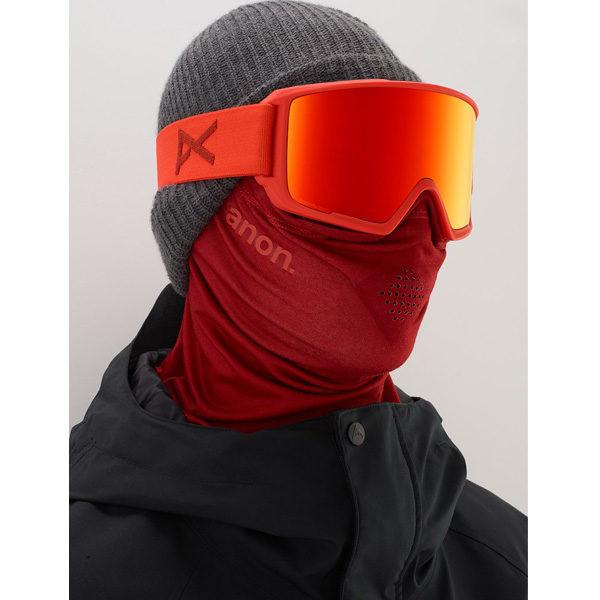 Anon M3 MFI Ski- und Snowboardbrille red sonar red by Zeiss