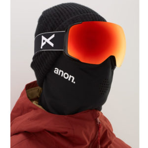 Anon M2 MFI Ski- und Snowboardbrille black sonar red Lens by Zeiss