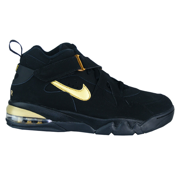 best service 801b5 d61c4 Nike Air Force Max CB Schuhe Herren schwarz/gold