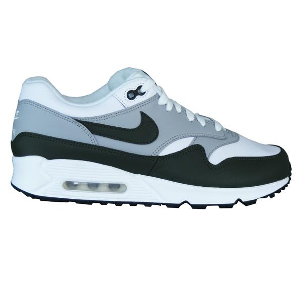 reputable site 2a8cc ffe37 Nike Air Max 90 1 Schuhe Herren grün grau
