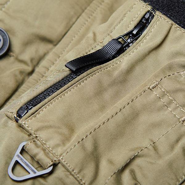 linke Stift Oberarmtasche mit Reißverschluss