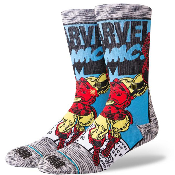 Stance Iron Man Comic Herren Socken