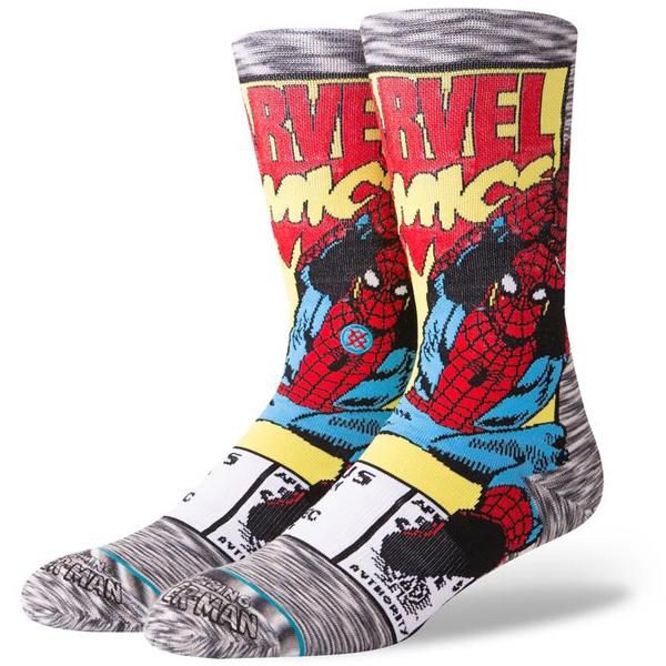Stance Spiderman Comic Herren Socken