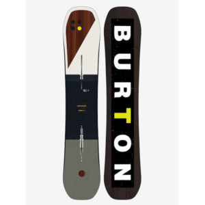New Burton Custom Flying V 162cm wide Snowboard 2019