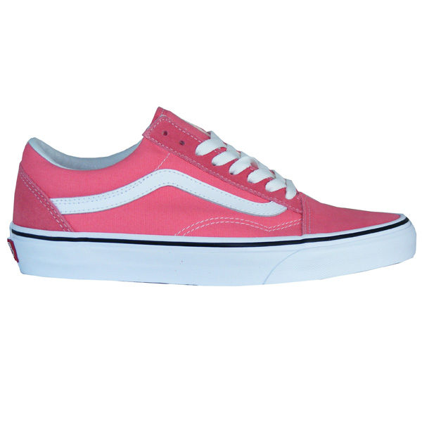 vans old skool damen rot