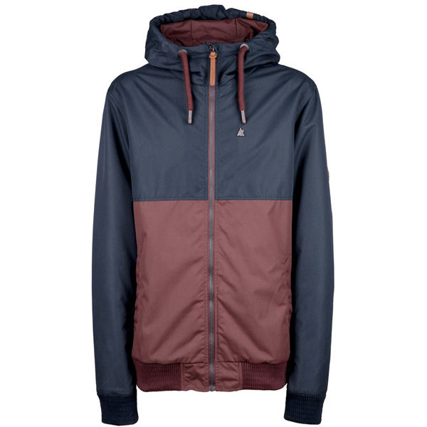 Alife and Kickin Don Esteban Übergangsjacke Herren burgundy