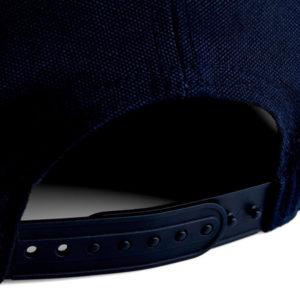Snapback-Verschluss hinten