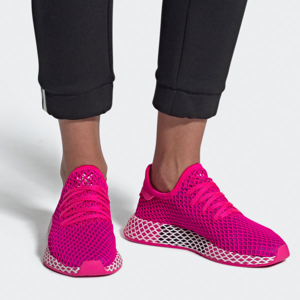 Adidas Originals Deerupt Runner Damen pink CG6090 ...